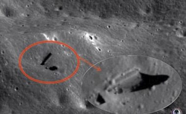 Ndjekësi i jashtëtokësorëve pretendon se ka gjetur një vendkalim në Hënë (Foto)