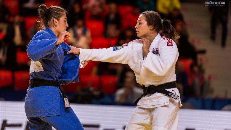 Nora Gjakova mposhtet në gjysmëfinale, në garë për medaljen e bronztë