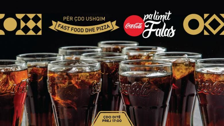 """Rrjeti i restoranteve në Kosovë ofron """"Coca Cola"""" pa limit, krejtësisht FALAS! (Foto/Video)"""
