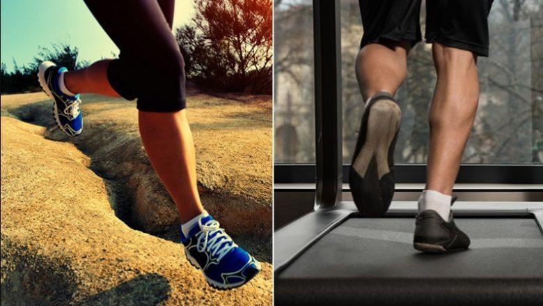 Cila është më e shëndetshme dhe më efektive: shiriti vrapues (treadmill-i) apo vrapimi përjashta?