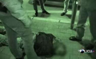Aksioni policor i arrestimit të dyshuarit për vjedhje (Video)