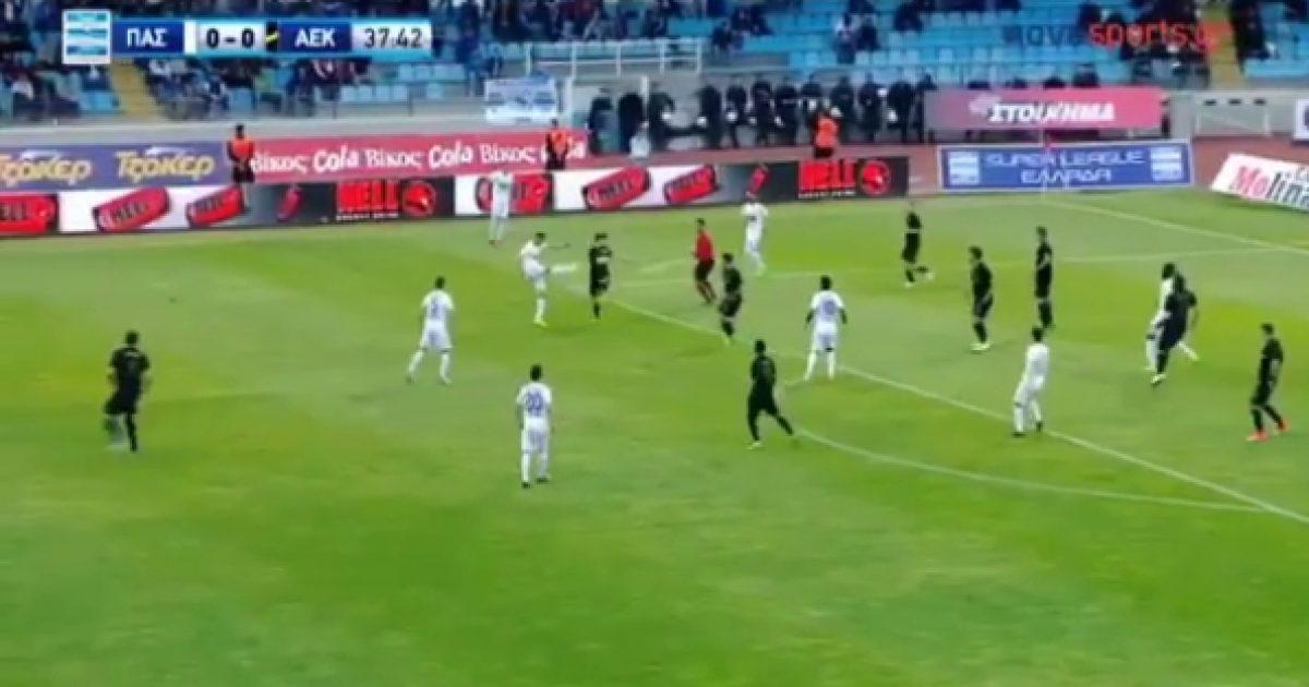 Lila e mbyllë sezonin në Greqi me një gol të bukur me vole