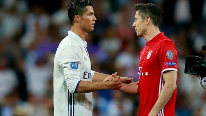 Ronaldo i kërkon Lewandowskit të transferohet te Reali (Foto)