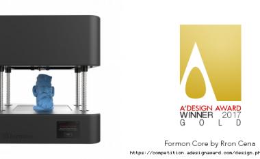 """Kompania Kosovare 'Formon' fiton çmimin GOLD në garën e dizajnit """"A'Design Award"""""""