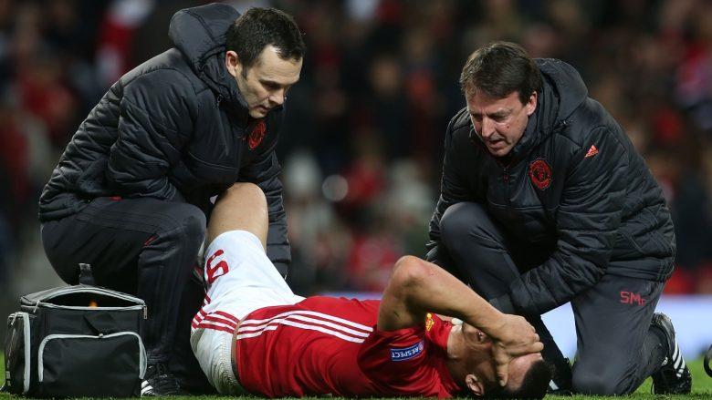 Ibrahimovic mungon për pjesën e mbetur të sezonit