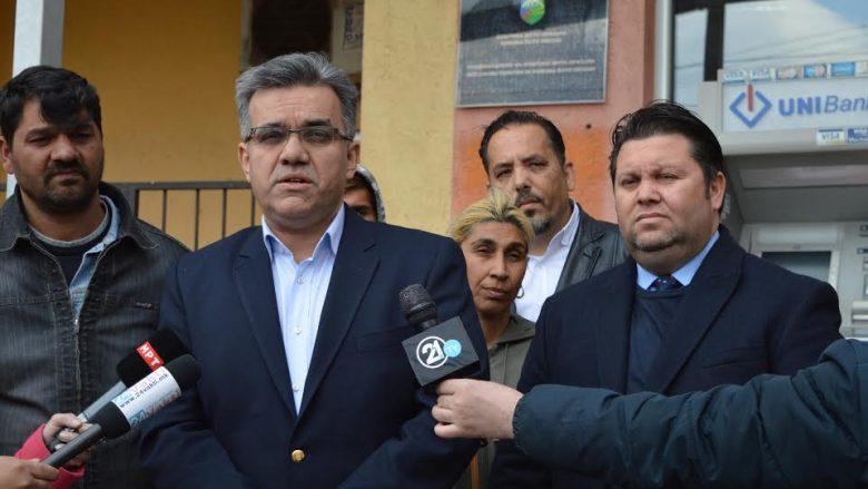 Katër familje nga Shuto Orizare pranuan ndihmë financiare dhe humanitare pas djegies së shtëpive të tyre