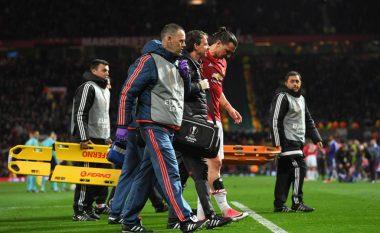 Lëndohet Ibrahimovic, nuk mund ta vazhdojë ndeshjen (Foto/Video)