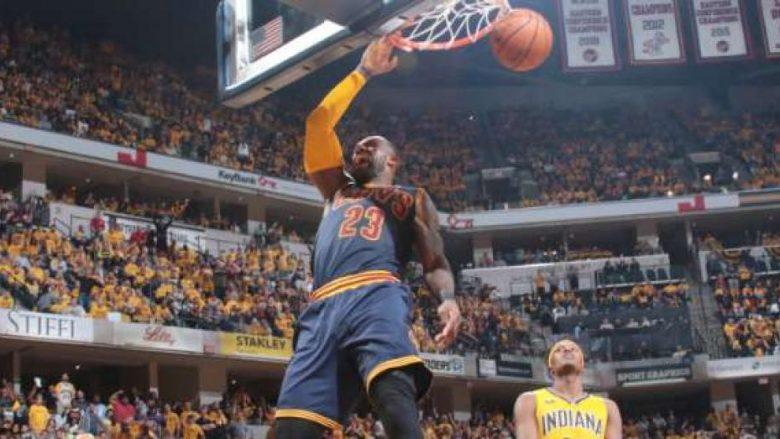 Rikthim historik i Clevelandit, paraqitje mbretërore e LeBron Jamesit! (Video)