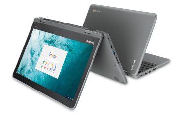 Lenovo lanson Flex 11, Chromeboookun e parë me 2 në 1