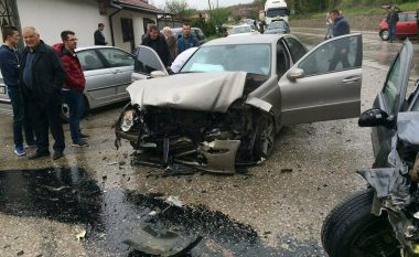 Aksident i rëndë në Leshan të Pejës, tre të lënduar
