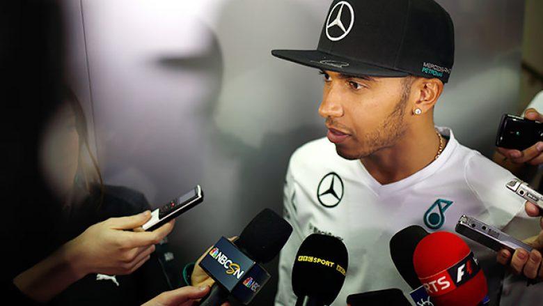 Lewis Hamilton zgjedh rivalin për titull