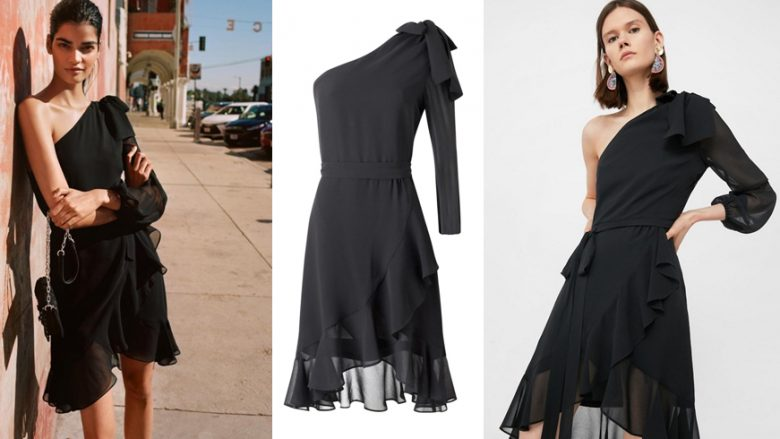 Këtë fustan shumë të mrekullueshëm të Shtëpisë së modës Mango të gjitha femrat do të dëshironin!