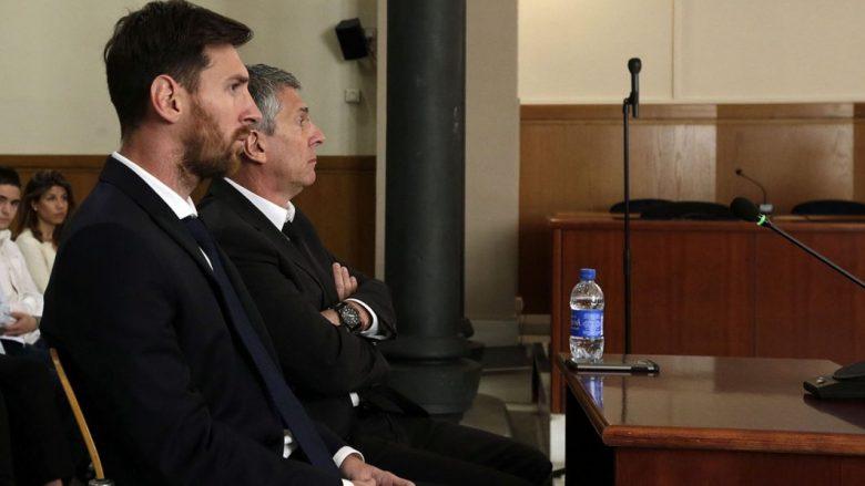 Prokuroria kërkon konfirmimin e dënimit prej 21 muajsh burg për Messin (Foto)