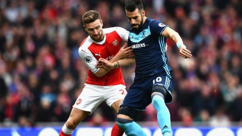 Formacionet zyrtare: Middlesbrough – Arsenal, Xhaka nga fillimi