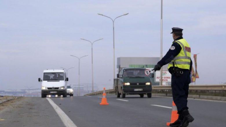 Për një javë policia shqipton 332 gjoba për automjete të paregjistruara