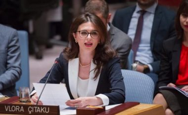 Ambasadorja Çitaku kryetare nderi e 'Refugees International' (Foto)