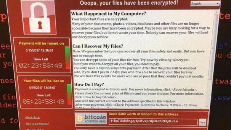 Softueri malicioz infekton mijëra kompjuterë në 74 vende botërore