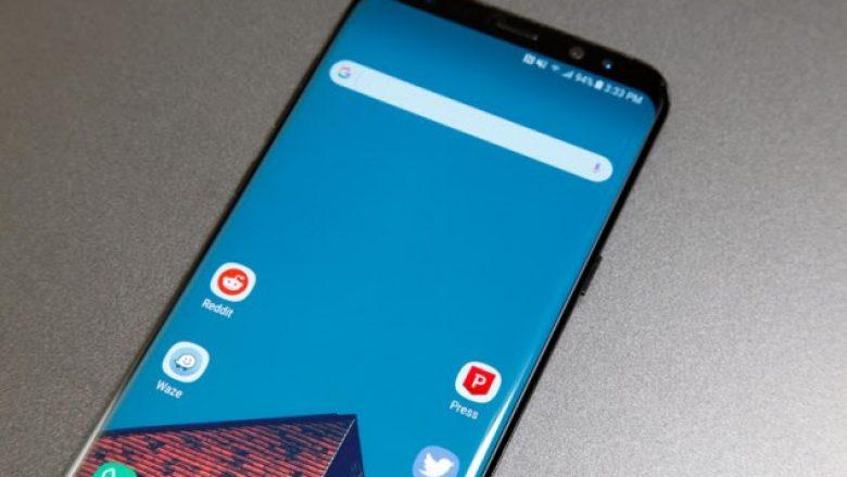 Telefoni Galaxy S8 mbushet shpejt vetëm kur e ka ekranin të shkyçur