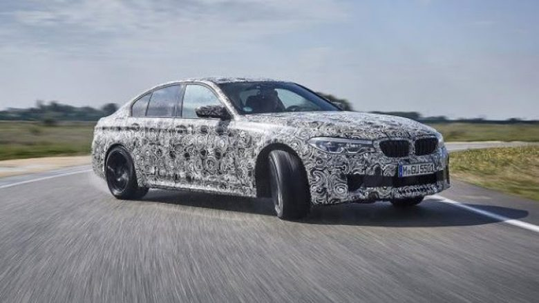 BMW M5 për 2018 me 600 kuaj fuqi
