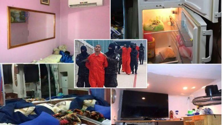 Brenda burgut më luksoz: Qelitë me televizorë plasma, tualete, mobile, aparate të kafesë, frigoriferë e ajër të kondicionuar (Foto)