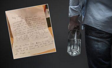 Një burrë i dehur kishte tentuar të futet në shtëpinë e huaj, letrën që ia la pronarëve i bëri ata që t'ia falin (Foto)