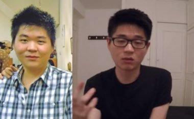 Prindërit nuk e kishin parë për tri vite, pasi kishte shkuar për studime dhe kishte humbur 20 kilogramë – vendosi të tallet pak me ata (Video)