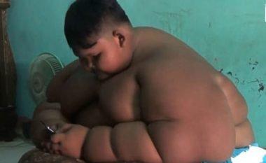 Është vetëm 10-vjeçar, por peshon 110 kilogramë (Foto)