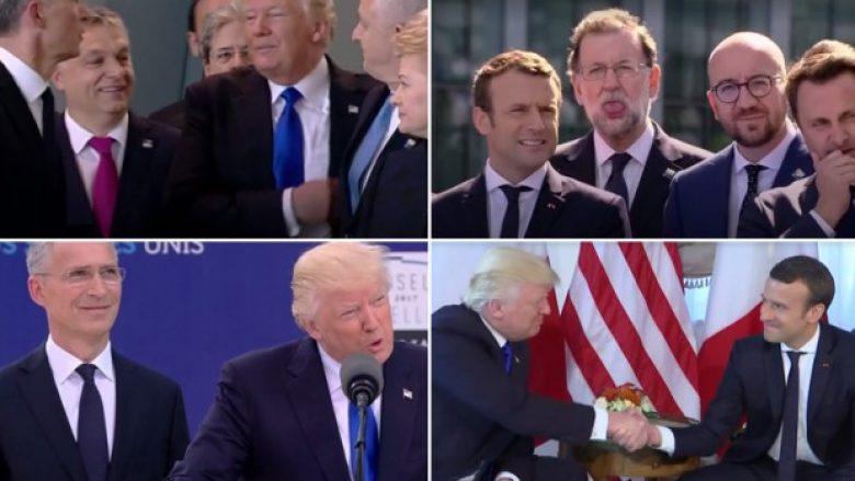 Momentet më bizare të samitit të NATO-s (Video)