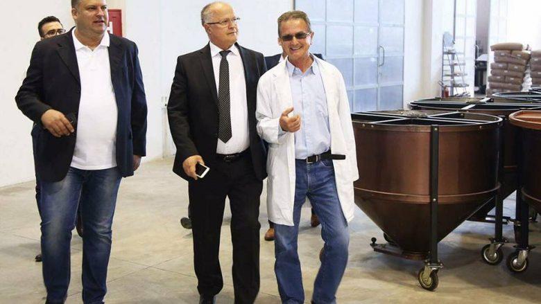 """Zëvendëskryeministri Ramiz Kelmendi vizitoi  Kompaninë """"Intercoop Group"""""""