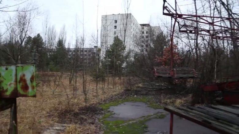 Dërguan një dron në Çernobil, këto janë imazhet e papara të pasojës së katastrofës nukleare (Foto)