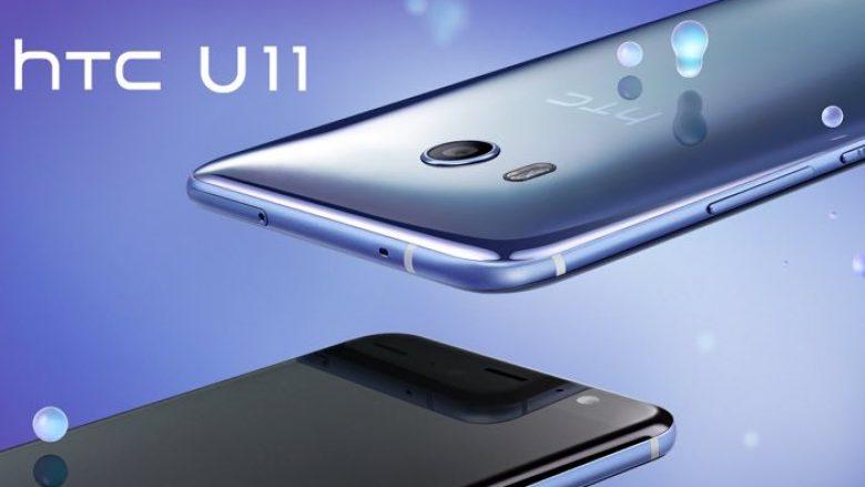 HTC zyrtarizon U11, zbulon gjitha detajet e telefonit të avancuar