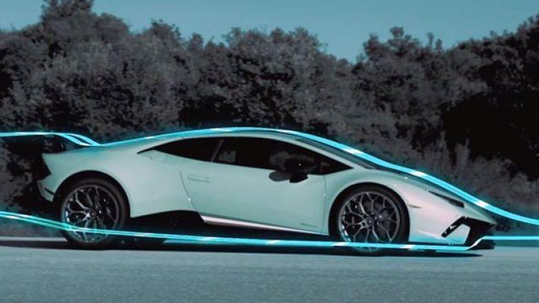 Huracan Performante, me aerodinamikë të fuqishme (Video)