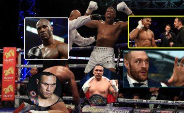 Të gjithë kërkojnë duel me Joshuan, ndërsa promovuesi Eddie Hearn tregon emrat e kundërshtarëve potencialë (Foto)