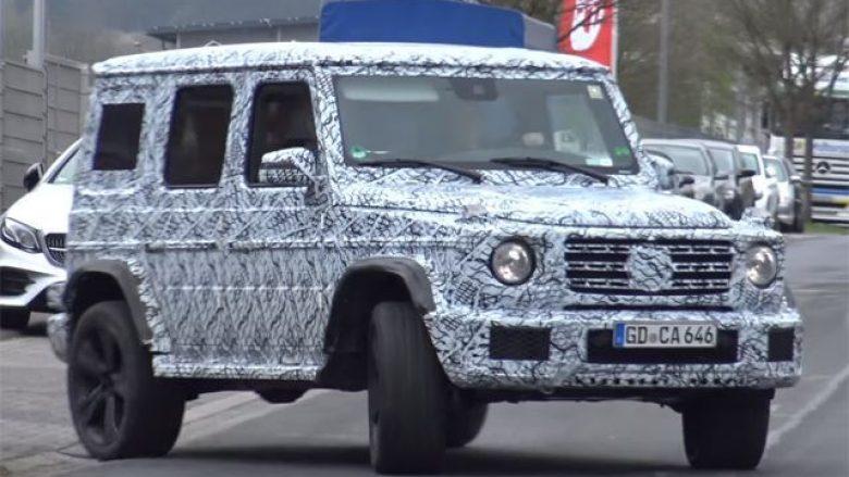 Mercedes sjellë për herë të parë një G-Class me ndryshime të mëdha (Video)