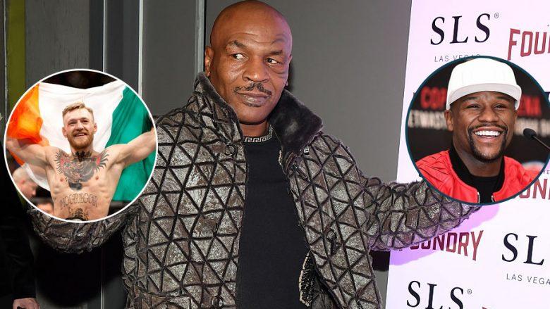 Mike Tyson jep parashikimin e tij për duelin ndërmjet McGregor dhe Mayweather