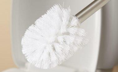 Ngatërrimi i keq i brushës për pastrimin e tualetit (Foto)