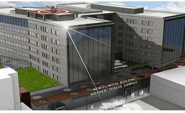 """Nënshkruhet marrëveshja për ndërtimin e qendrës së re klinike """"Nënë Tereza"""" në Shkup"""