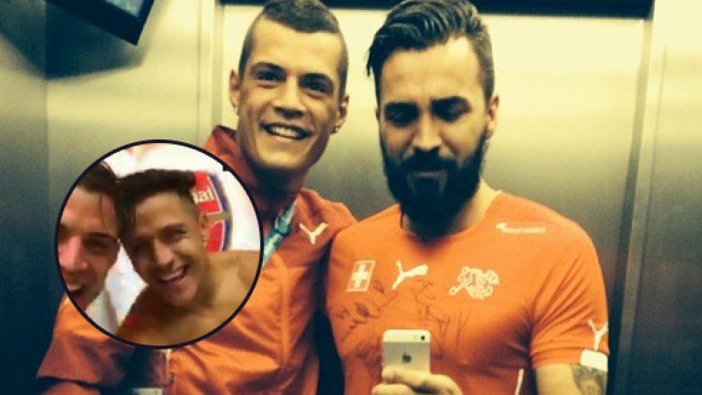 Destani e uron Xhakën për fitoren, edhe Alexis bëhet pjesë e video-bisedës