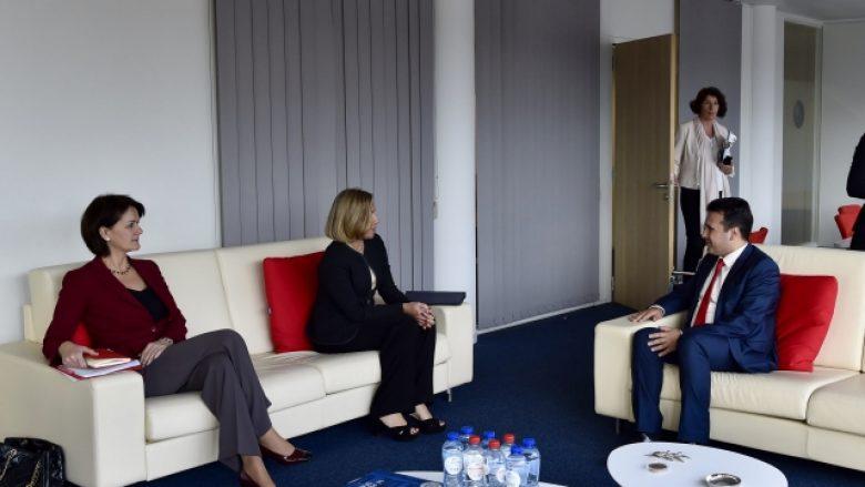Zaevi takoi Federica Mogherini në  përfaqëson Maqedoninë në takimin BE   Ballkani Perëndimor