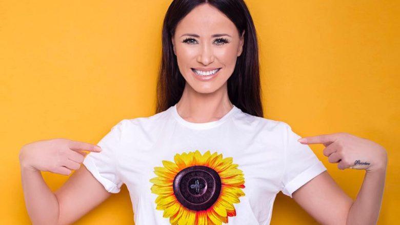 """""""Ti je një luledielli"""", fushata që u jep dritë fëmijëve në nevojë! Albana Osmani, bukuroshja e ekranit – ambasadore e kauzave sensibilizuese"""
