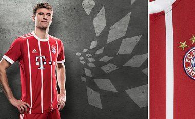 Bayern Munich prezanton fanellat e reja për sezonin 2017/18 (Foto)