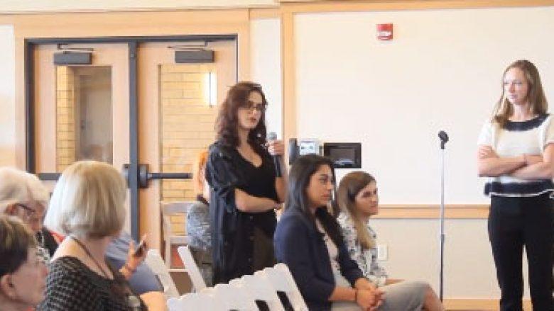 Blerta Avdili tregon pse e gjuajti me vezë Vlora Çitakun