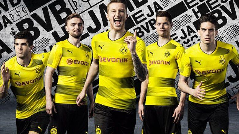 Borussia Dortmundi zbulon fanellat e reja (Foto)
