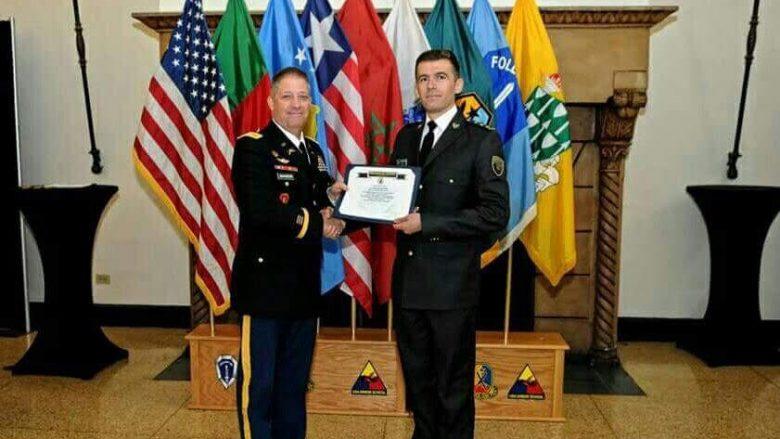 Kapiteni i FSK-së shpallet oficeri më i mirë ndërkombëtar në SHBA