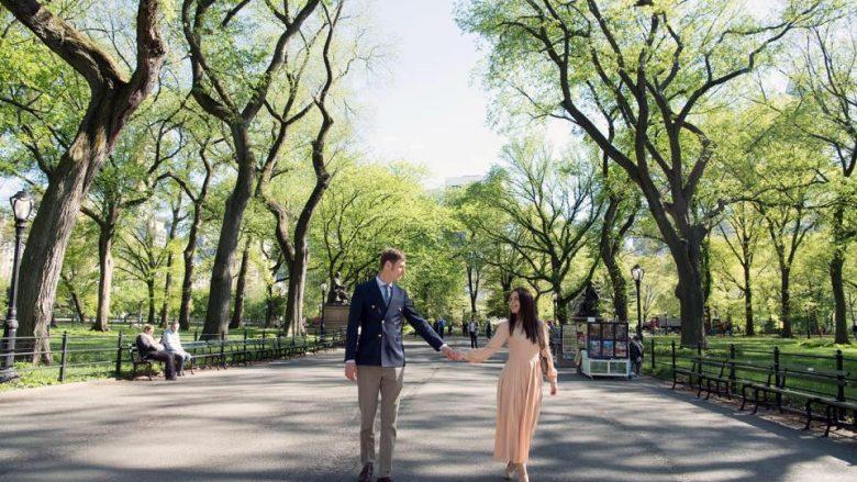 Më të dashuruar se kurrë! Princ Leka dhe Elia Zaharia shëtisin të lumtur në New York (Foto)