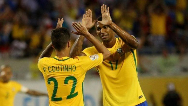 Lista e Brazilit kundëArgjentinës, mungojnë dy yje të Realit dhe po aq të Barçës