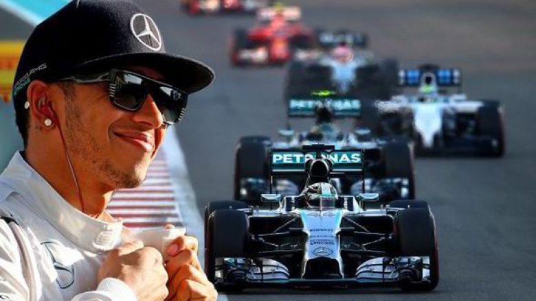 Hamilton më i miri në provat e lira në Çmimin e Spanjës