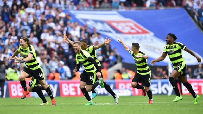 Huddersfield siguron inkuadrimin në Ligën Premier pas dramës së penalltive (Foto)