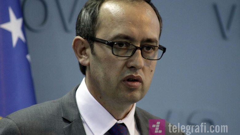 Ministri Hoti në takimet vjetore të BERZH-it