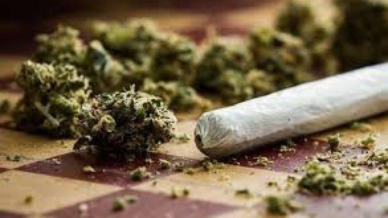 Kapet substancë narkotike, thika e boks metali në autobusin me nxënës
